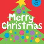 触って楽しめるクリスマスの英語絵本♪「Bright Baby Touch & Feel Merry Christmas」