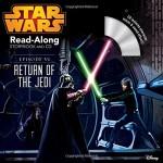 """スターウォーズシリーズからCD付きのRead-Along Storybook""""Return of the Jedi"""" ★動画有"""