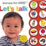 発音サウンド付きの楽しい英単語絵本「Simple First Words Let's Talk」