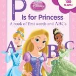プリンセスで英単語を学ぶ♡「P is for Princess (Disney Princess)」