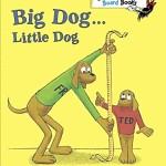 シンプルな「反対語」が楽しい人気の絵本♪「Big Dog…Little Dog」★動画有