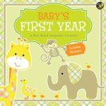 【番外編】赤ちゃんの1年を記録できるカレンダー♪