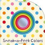 覗いて楽しめる「色」の絵本♪「Sneak-a-Peek: Colors」