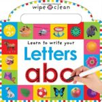 ABCは書いて覚える!「Learn To Write Your Letters」★動画有