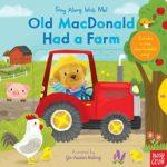 よく聞く童謡が可愛い仕掛け絵本に♪「Old MacDonald Had a Farm」★動画有
