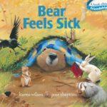 風邪ひいたかも・・・?「Bear Feels Sick」