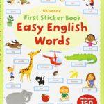 長距離移動はスティッカーブックで♪「Easy English Words」
