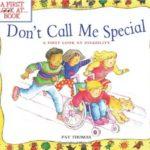 パラリンピック中に読みたい!「Don't Call Me Special」★動画有