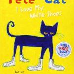 スニーカーを履いて歌う猫(笑)「Pete the Cat: I Love My White Shoes」★動画有