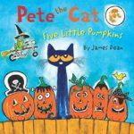 歌いながら読めるハロウィンの絵本♪「Pete the Cat: Five Little Pumpkins」★動画有