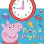 英語で「時計」のお勉強ならこの本♪「Peppa's Busy Day」★動画有