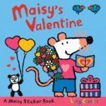 シールで遊ぶバレンタイン♪「Maisy's Valentine Sticker Book」