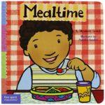 ごはんのマナーはこの絵本で♪「Mealtime」